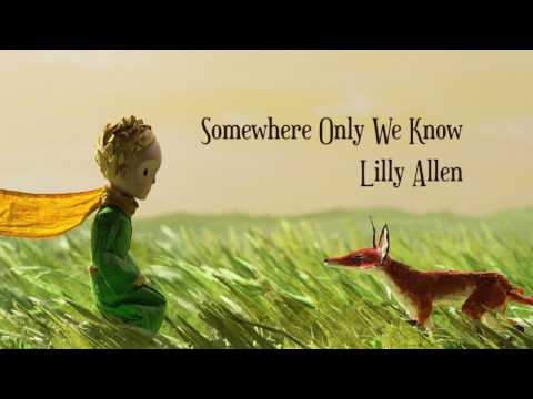 Somewhere Only We Know - Keane/Lilly Allen (Ukulele cover + Lyric video)