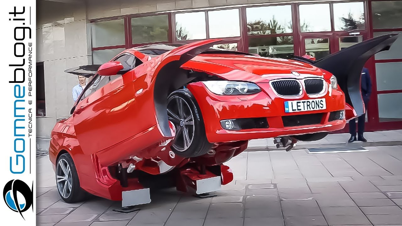 Real Life Robot Transformer Bmw 3 Series Car Amazing And Insane