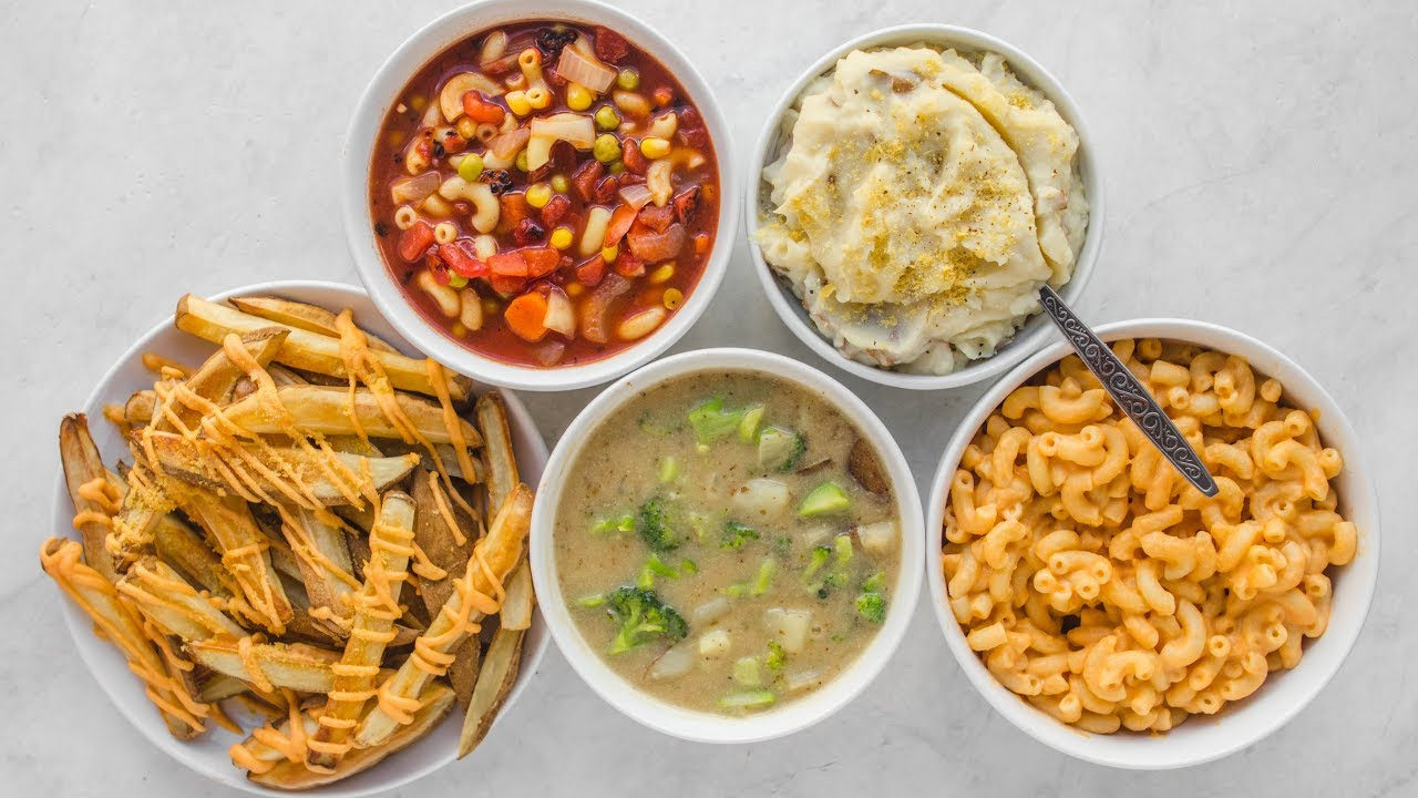 5 budget friendly vegan comfort food recipes for under 2 youtube 5 budget friendly vegan comfort food recipes for under 2 forumfinder Choice Image