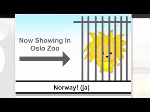 Come to Norway, it's better than Kenya