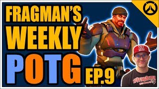Overwatch: FRAGMAN'S TOP 5 WEEKLY POTG  Episode 9  EPIC, SILLY & FUN POTM thumbnail