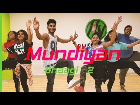 Mundiyan - Baaghi 2  Dance fitness Choreography  Tiger Shroff Disha Patani  HY Dance Studios