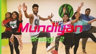 Mundiyan - Baaghi 2 | Dance fitness Choreography | Tiger Shroff, Disha Patani | HY Dance Studios