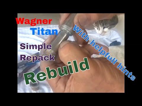 Wagner And Titan 440 Rebuild Piston & Pump Packing Kit