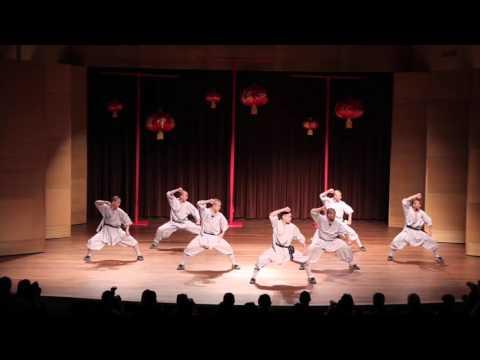 Shaolin Kungfu performance at Huntington library