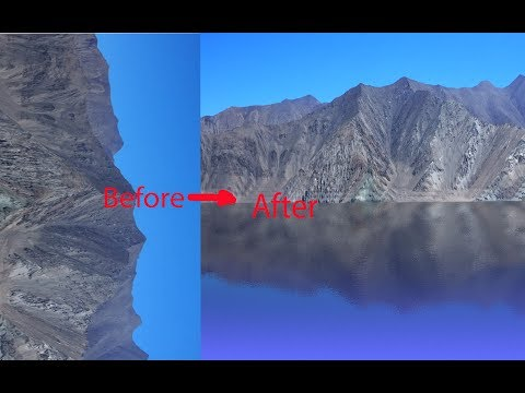How Create water reflect Effect In photoshop/photoshop tutorial/ Graphics Design/ thumbnail
