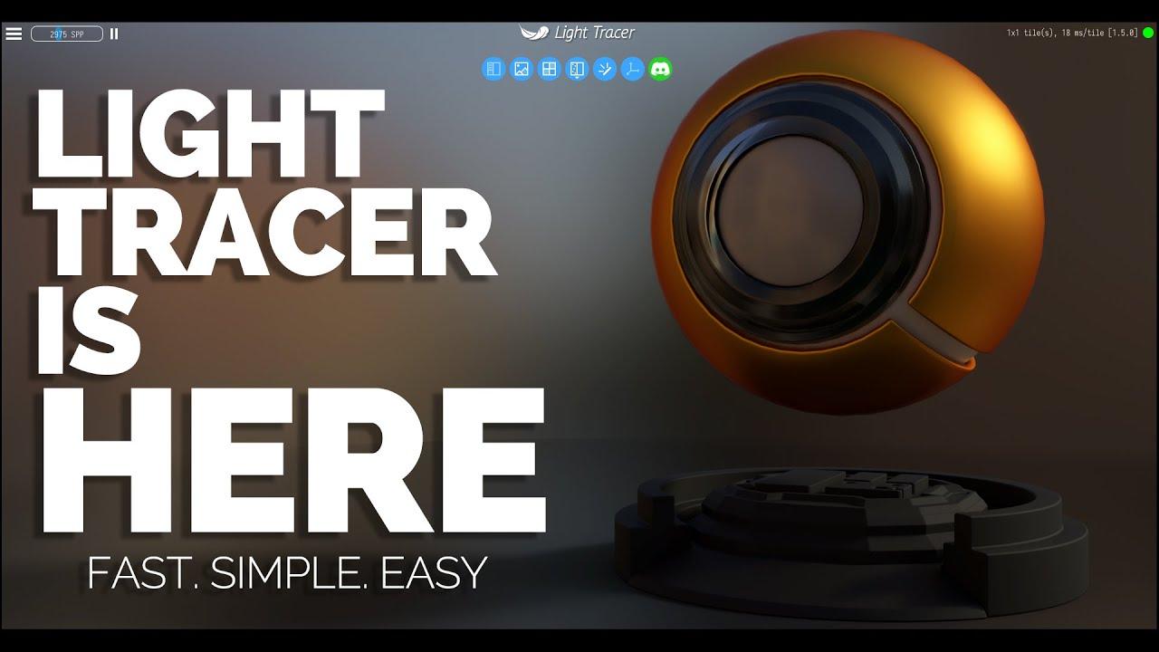 LIGHT TRACER RENDER FOR DESKTOP – REVIEW/WALKTHROUGH