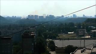 7 августа Донецк Под обстрел попала больница Вишневского