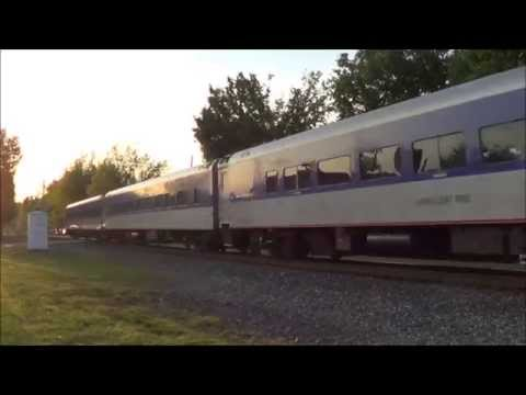 Trains On The H-Line With EMD Leaders & Foreign Power April 2015