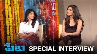 Actress Megha Akash And Malavika Mohanan Special Interview About Peta Movie | TFPC