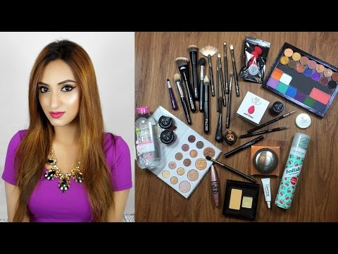 Huge Makeup Haul - Anastasia, Becca, Inglot, Pac Cosmetics & More! | Aishwarya Kaushal