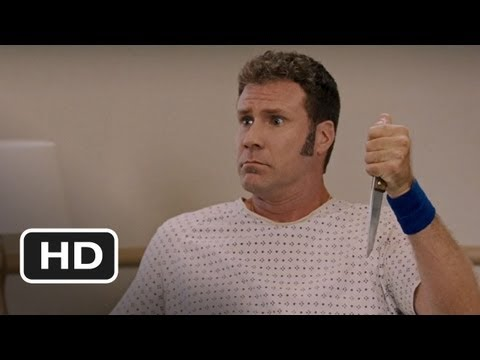 Talladega Nights (3/8) Movie CLIP - Knife in the Leg (2006) HD