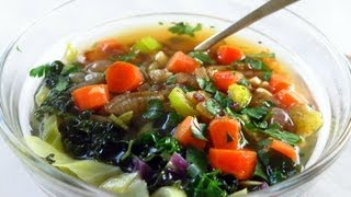 Italian Wedding Soup With Homemade Broth & Kale Recipe