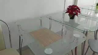Обзор на столы из закалённого стекла