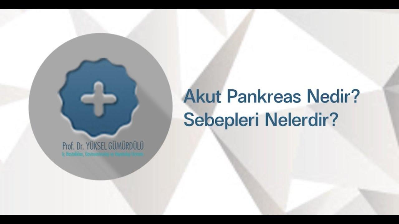 Pankreatit nedir Hastalığın belirtisi