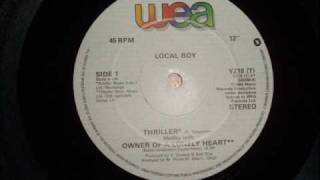 Play Thriller Medley (Owner of a Lonely Heart mix)