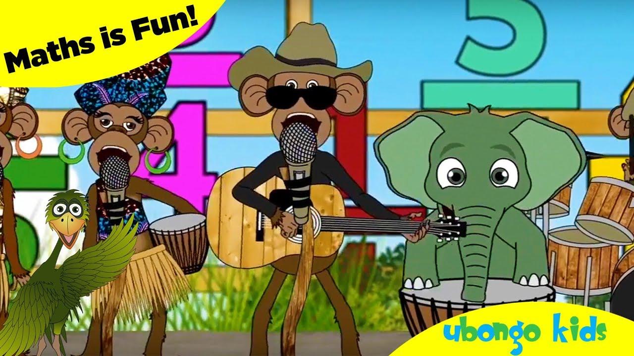 Maths is Fun! | Ubongo Kids Math Songs | African Educational Cartoons