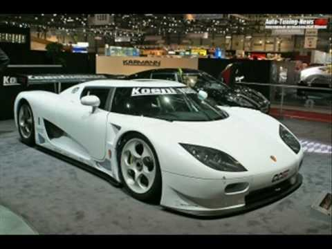Updated Top Ten Fastest Cars In The World 2008 2009