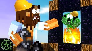 Worst Nether Portal - Minecraft - Sky Factory 4 (Part 2) | Let's Play
