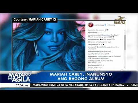 Mariah Carey, inanunsyo ang bagong album