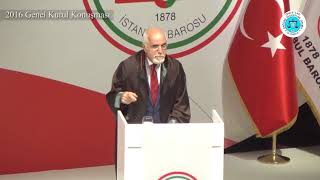 Av. Mehmet Durakoğlu – 2016 Genel Kurul Konuşması'ndan