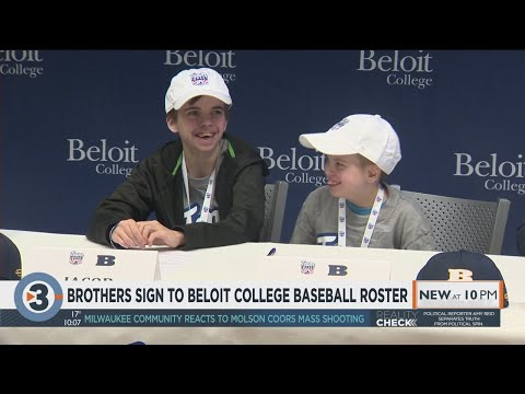 Brothers Sign To Beloit College Baseball Roster