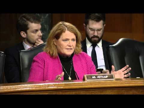 Heitkamp Discusses Proposed Waters of the U.S. Rule at Senate Agriculture Committee Hearing