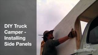 Diy Truck Camper - Attaching Plywood Walls By Yourself