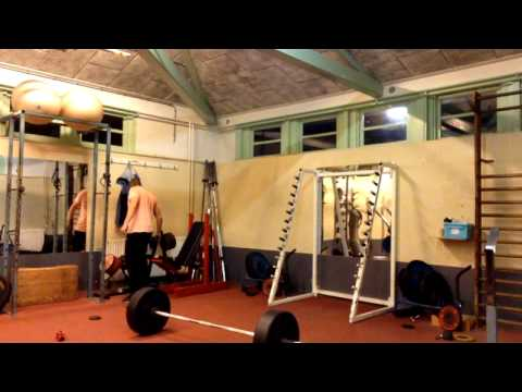 35 minutes Olympic Weightlifting Training: squats, power clean to front squats & power snatches