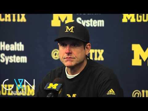 Jim Harbaugh Press Conference - 11/28/2015 - Michigan vs Ohio State