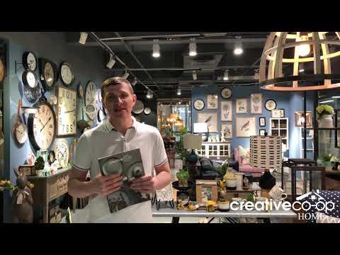 Экскурсия по офису Creative Co-Op Home. Март 2019 г.
