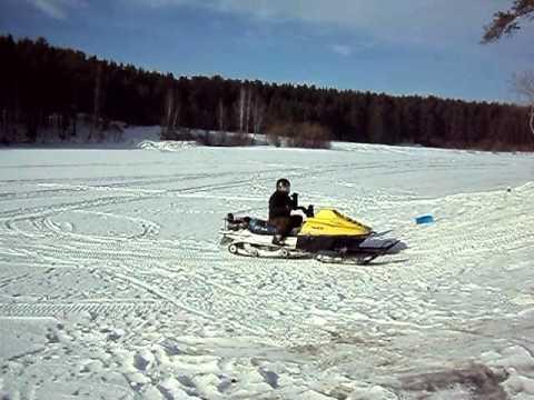 снегоход рысь - YouTube