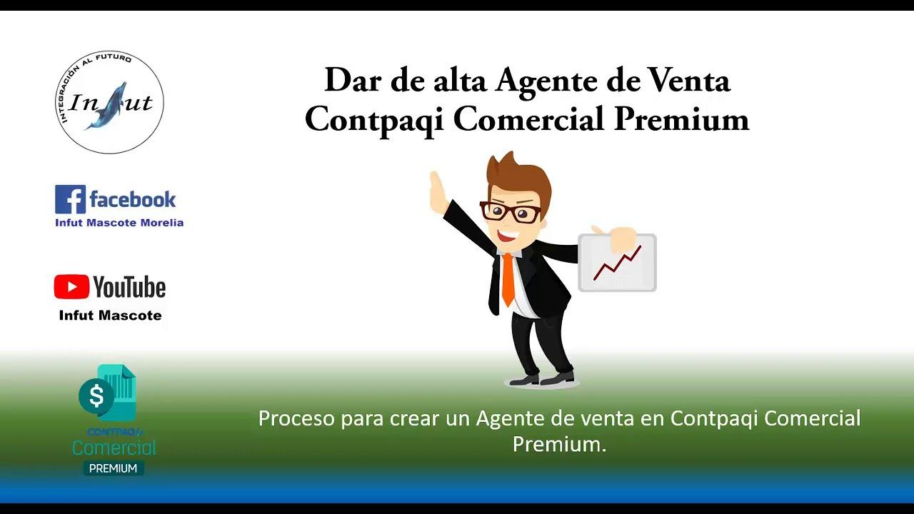 Crear un agente de venta en Contpaqi Comercial Premium