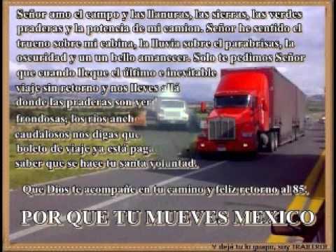 la oracion del camionero - YouTube