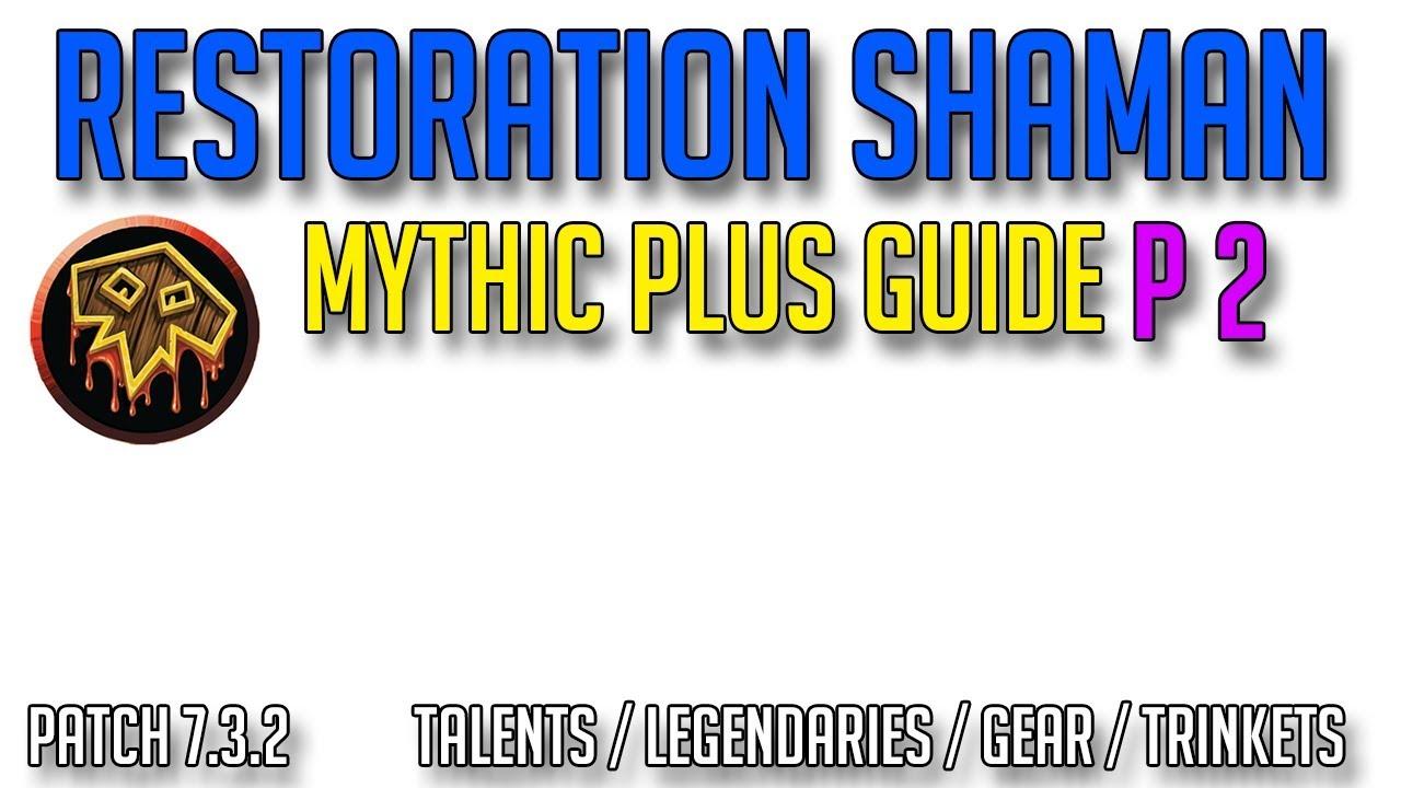 resto shaman mythic+ talents