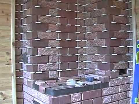 Керамическая плитка для печей и каминов Терракот - YouTube