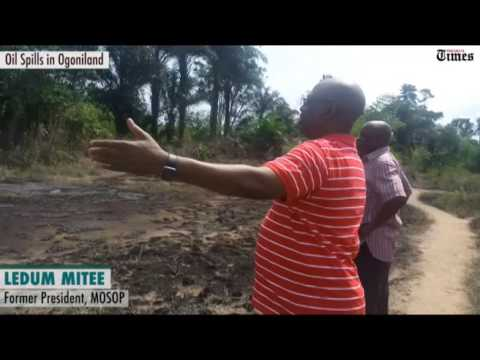 "Oil spills in Ogoniland: ""There was never clean up but cover up in Ogoniland"" - Ledum Mitee"