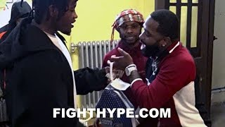 ADRIEN BRONER AND RAU'SHEE WARREN ENTERTAIN FANS; GIVE BACK AT 3RD ANNUAL TURKEY GIVEAWAY