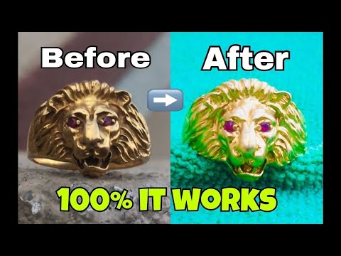 Simple way to clean Gold ( home method)