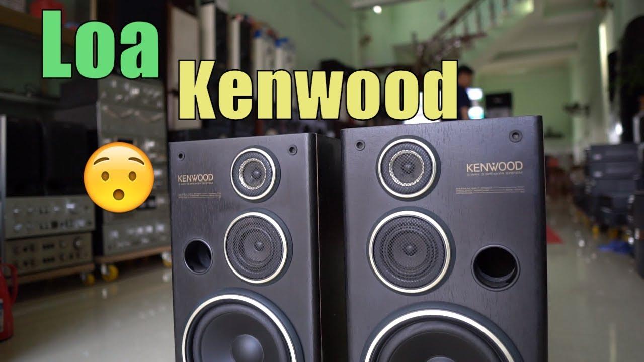 Loa Kenwood 3 đường tiếng bass 20 cực đẹp