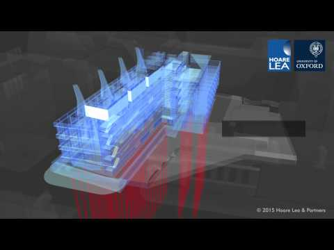 Sustainable Building Services at the Earth Sciences Building, Oxford University