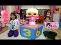 Öykü ve Masal'a Sürpriz Renkli Kutu - Kids LOL Surprise Blind Bag Capsules ! Eye Spy Under Wraps