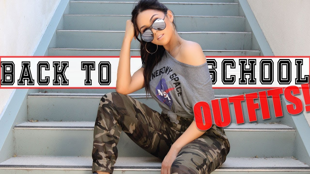 AFFORDABLE BACK TO SCHOOL OUTFITS - 2017 LOOKBOOK | Roxette Arisa 1