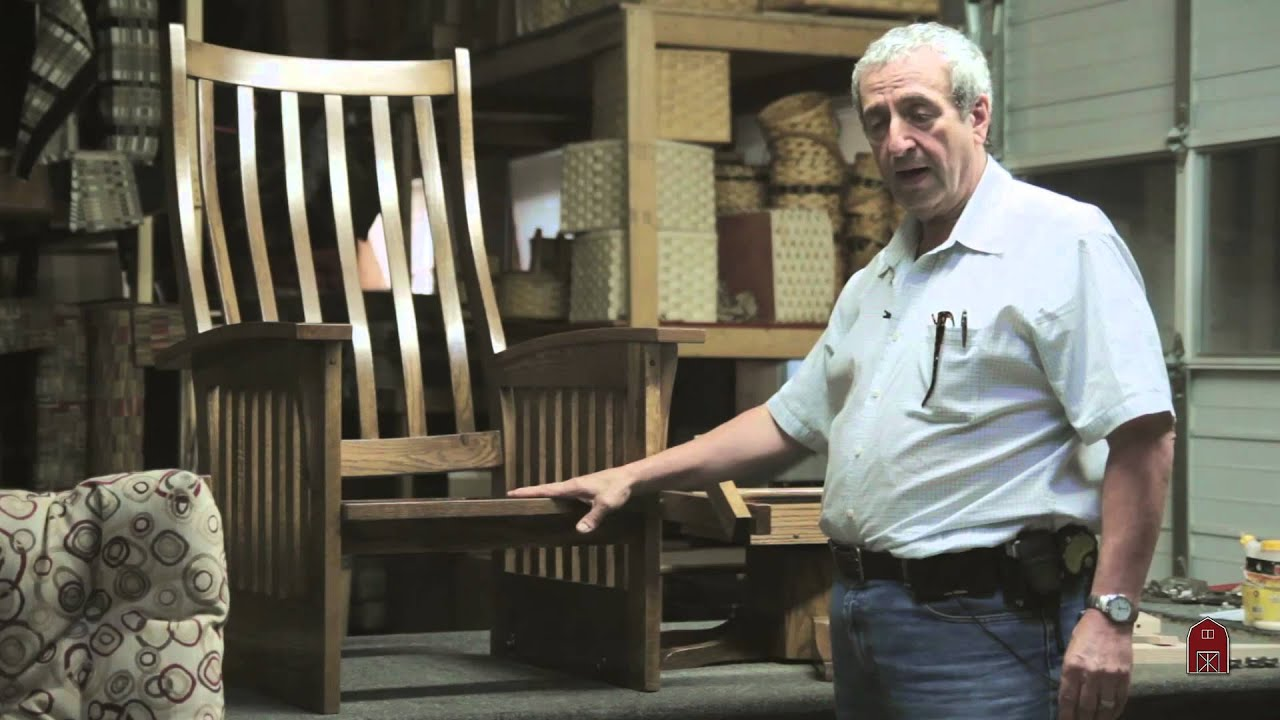 American Made Rocking Chairs  sc 1 st  YouTube & American Made Rocking Chairs - YouTube