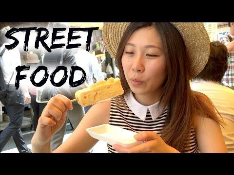 Japanese Street Food Guide To Tsukiji Fish Market | Tokyo Japan Travel Guide
