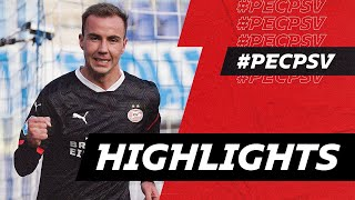 DEBUT GOAL Mario Götze 😍, Mvogo Stops Penalty ⛔️   HIGHLIGHTS PEC Zwolle - PSV