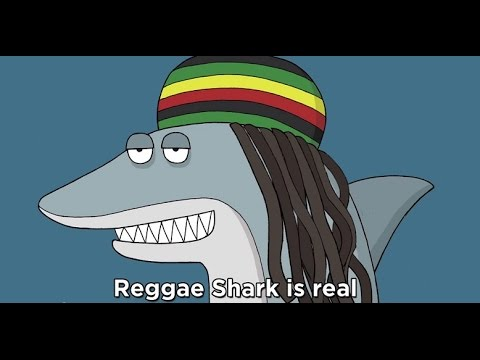 Download Reggae Shark   Key of Awesome 89 Animated /  Cannabis