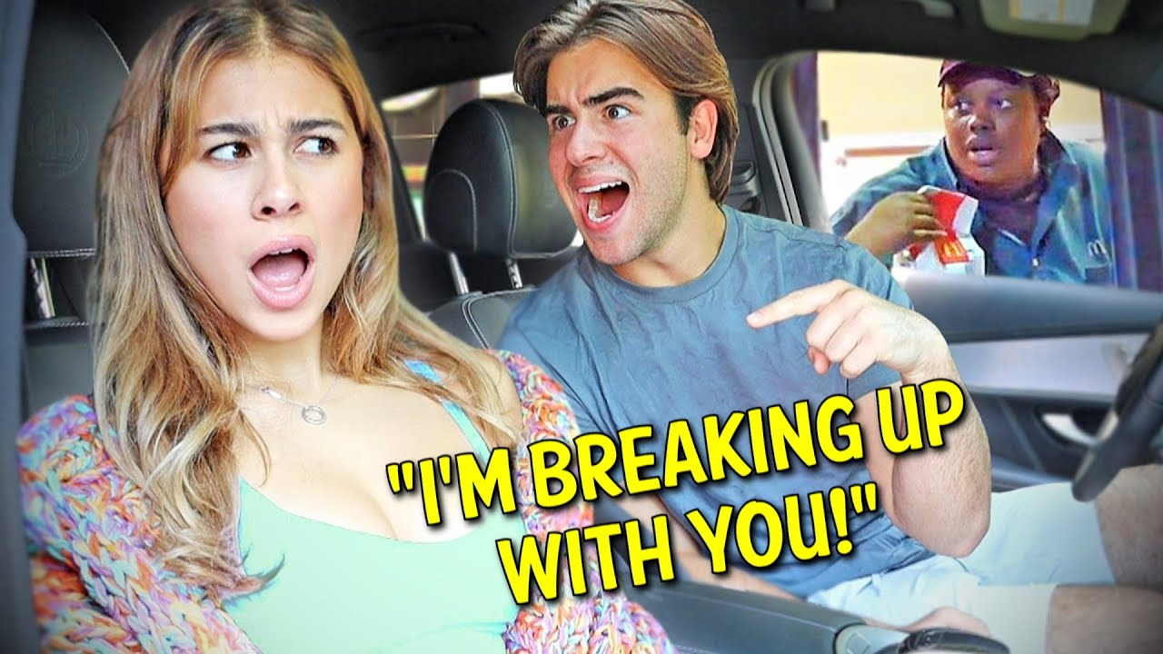 Making AWKWARD SITUATIONS In Drive Thru's.. *HILARIOUS*