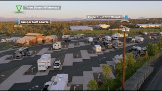 Deschutes County Fairgrounds RV Park - Redmond, Oregon