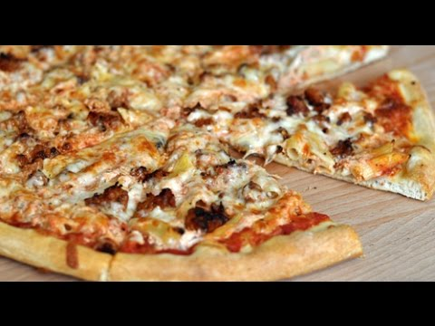 How to: Homemade Baked Ziti and Sausage Pizza